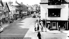 Photo of Farnham, The Borough from The Francis Frith Collection Farnham Surrey, Old Pictures, England, Street View, Photos, Collection, Antique Photos, Pictures, Old Photos