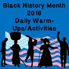 Black History Month for MS and HS: Daily 15 Minute Activities Packet -- This 34-page file has learning activities for every day of Black History Month, designed to promote critical thinking and student engagement. Appropriate for middle school and high school classrooms in US History. These can be used as drills or exit activities each day in February to promote understanding of African American history.