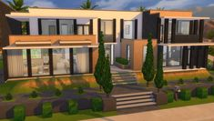 "sims 4 bbgc on Instagram: ""🧡Base Game 3 Juego Base 3 ID bibianabernal🧡 #ts4 #thesims #thesims4 #sims4 #simshouse #simsmansion #sims4build #showusyourbuilds #lossims4…"" Sims Building, Building Ideas, Casas The Sims 4, Sims 4 Build, Sims 4 Houses, Game 3, The Sims4, House Rooms, Game Room"