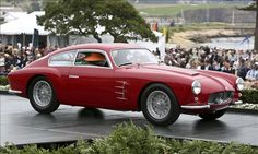 1956 Maserati A6G 2000 Zagato Coupe. Owner: David & Ginny Sydorick, Beverly Hills, Calif. (Pebble Beach Concours 2012: Best in Class, O-2 Prewar Sports Closed.)