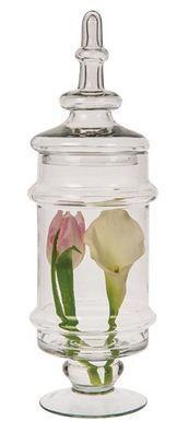 Glass Apothecary Jar (Cassia design)