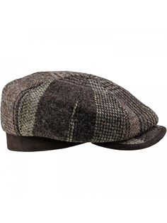 Shop Harris Tweed 8 Panel Gatsby Classic Flat Cap Brown and discover a large selection of Men's Newsboy Caps at affordable prices. Mens Casual Hats, Mens Newsboy Hat, Hats For Short Hair, News Boy Hat, Flat Cap, Harris Tweed, Outfits With Hats, Mens Caps, Derby Hats