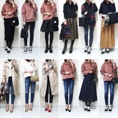 メール - Yuasa - Outlook in 2019 Hijab Fashion, Korean Fashion, Fashion Outfits, Cute Fashion, Girl Fashion, Womens Fashion, Moda Disney, Japan Outfits, Fall Outfits