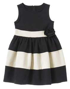 Colorblock Ponte Dress at Crazy 8 (Crazy 8 6m-5T)