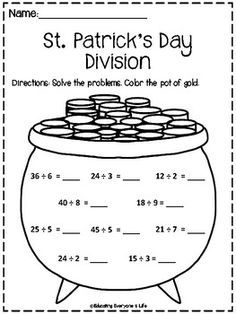 Printable Long division worksheets. With remainders and