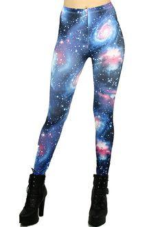 Swirling Galaxy Leggings