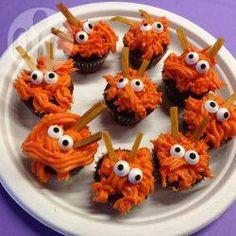 Mini cupcakes de monstruos