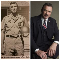 Tom Selleck served with the 160th Infantry Regiment of CA Army National Guard-1967-1973-(Actor)