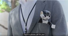 RoBoHon is a Smartphone that Walks & Talks... Seriously.