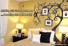 Blogged: Sticking Life into your Room - beautify with wall decals!