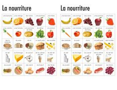 Madame Belle Feuille: October 2012 - Food Unit with other units for French Immersion or Core French Learn French Fast, How To Speak French, French Teacher, Teaching French, Dictionary For Kids, Visual Dictionary, Food In French, Food Vocabulary, Core French