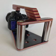 #maplecamera #maplevx #maplecamerahandle #recycledskateboards #dslr #canont2i also available in #gopro and #iphone5 go to www.maplecamera.com to order one. Go like the page to @maplecamera #handmade #