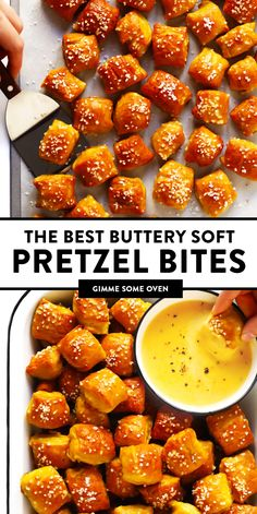 The Best Hot And Buttery Homemade Soft Pretzel Bites Recipe Easy To Make In Just 1 Hour, And Customizable With Any Of Your Favorite Toppings. Easy Appetizer Recipes, Yummy Appetizers, Easy Vegetarian Appetizers, Easy Appies, Shower Appetizers, Appetizer Ideas, Easy Recipes, Vegetarian Recipes, Cooking Recipes