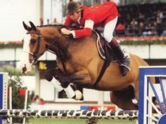 Nick Skelton & Apollo - Remember them at Olympia and Wembley. Great pair!