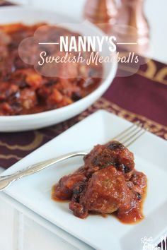 Nanny's Swedish Meatballs - ground beef grass-fed, pineapple, cranberries dried