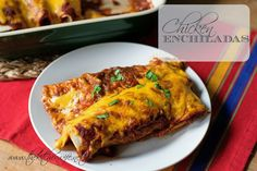 Just in time for Cinco de Mayo, Perfect Chicken Enchiladas! www.thekitchenwife.net