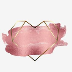Pink And Gold Background, Logo Background, Geometric Background, Logo Online Shop, Logo Boutique, Rose Gold Wallpaper, Lashes Logo, Rose Gold Frame, Geometric Heart