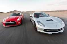 The all-new 2014 Chevy Corvette Stingray Z51 takes on its toughest competition yet, the 545-horsepower 2014 Nissan GT-R Track Edition.