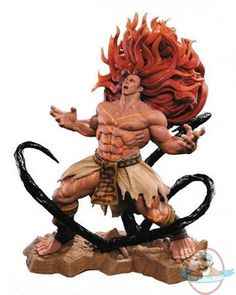 Street Fighter V Necalli Scale Statue Pop Culture Shock Collectibles Street Fighter Statues Street Fighter 1, Capcom Street Fighter, Character Concept, Character Art, Character Design, Pop Culture Shock, Character Modeling, Anatomy Reference, Poses