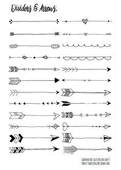 Flechas decoración