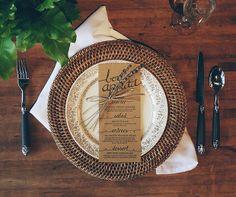 I just finished our first letterpress order for next week's March wedding! This wedding is a rustic themed wedding. The 'Bon Appetit' at the top was calligraphed by hand and scanned in for a custom styled letterpress plate. Each menu is assembled by hand with natural jute twine and dried lavender. We don't use templates at By His Design. Our projects are customized down to the last detail!