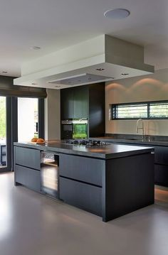 Like the housing for the lighting - the trim. Same kitchen design