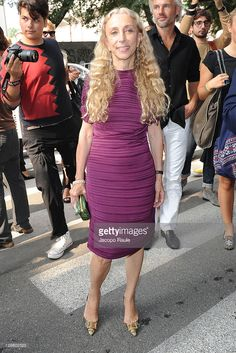 Franca Sozzani arrives arrives at the Giorgio Armani Spring/Summer 2012 fashion during Milan Womenswear Fashion Week on September 26, 2011 in Milan, Italy.