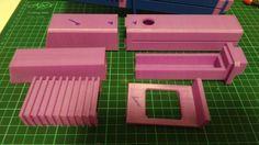 Darksaber 3d printed kit for 1 inch blade.  #starwars #darksaber #lightsaber #customsaber  #saber #3dprinted #3dprinting #kit #etsy #shiroppidiy
