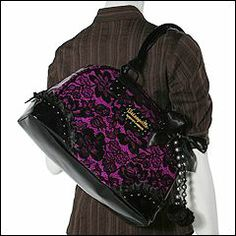 Betsyville.  Love the purple and black combo.