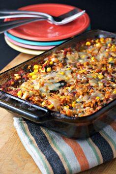 Rice and bean casserole ~vegan, gluten free~