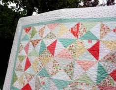 A beautiful quilt from one of my very favorite bloggers.