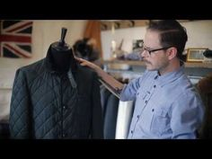 Designer's Notes: Racing Green Quilted Barn Jacket #aw13 #farrell
