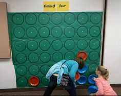 Life sized Connect Four - great to have set up for as youth arrive into your groups