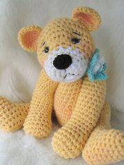 Favorite Crochet Teddy Bear, free pattern, stuffed toy, amigurumi, #haken, gratis patroon (Engels), teddy beer, knuffel, speelgoed, kraamcadeau, #haakpatroon