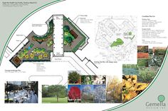 Landscape presentation board