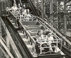 Euclid Beach Park Cleveland Ohio There was nothing like the old wooden roller coaster there. Cleveland Rocks, Cleveland Ohio, Amusement Park Rides, Ohio State University, Best Location, Best Memories, Great Places, Roller Coasters, Vintage