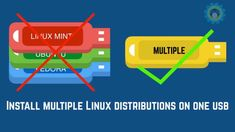 This tutorial shows you how to install multiple Linux distributions on one USB. This way, you can enjoy more than one live Linux distros on a single USB key. Medical Technology, Computer Technology, Computer Programming, Energy Technology, Technology Gadgets, Computer Projects, Pi Projects, Linux Mint, Bugatti Veyron