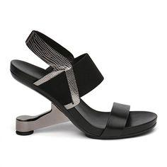 Strange Heel Ladies High Heels Sexy Summer Sandals