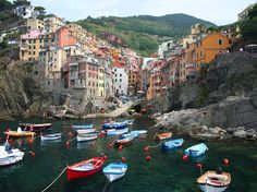Cinque Terre, Italy. This hidden gem of 5 villages along the sea cliffs in the Italian Riviera is beyond words for how authentic and stunning it is.