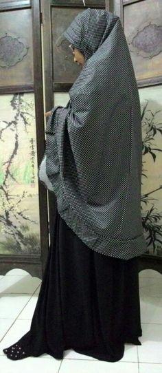 Jilbab Syari Bergo Pad. Katun jepang ^^