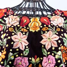 These are gorgeous, antique huipiles, or over blouses, handmade in the Tehuantepec region of Oaxaca, Mexico. Frida Kahlo's mother was a Tehuana and Frida was inspired though out her adult life to wear