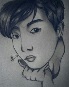 My Jeon Jungkook selca fanart #jeon #jungkook #jeongguk #fanart #bts #kpop #selca #graffitt #bangtan #boys #bighit #golden #maknae #beautiful #kidol #art #drawing #desenho #arte
