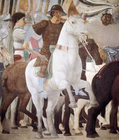 Constantine's Victory over Maxentius (detail) Piero Della Francesca