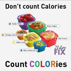 Count COLORies not Calories! With optimal health often comes clarity of thought. Click now to visit my blog for your free fitness solutions!