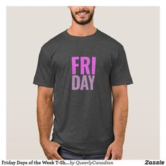Friday Days of the Week T-Shirt