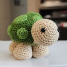http://wixxl.com/sheldon-turtle-amigurumi-pattern/ Sheldon the Turtle Amigurumi Pattern