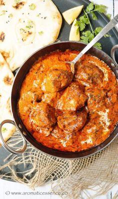 Butter chicken (Murgh Makhani) | Easy butter chicken recipe - Aromatic Essence