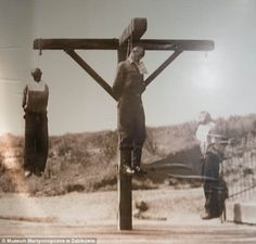 Bitter end: These three people were hanged in Concentration Camp Poznan