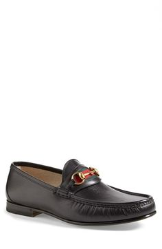 Gucci 'New Classic' Bit Loafer (Men) available at #Nordstrom
