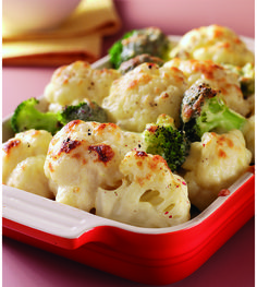 This #Cheddar and #vegetable combo served piping hot from the oven will keep the family coming back for more.